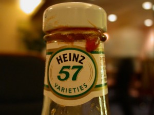 Steak Sauce Heinz 57